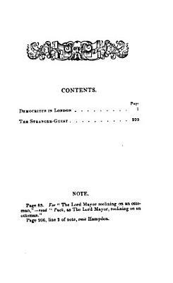 Democritus in London PDF