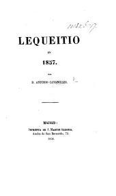 Lequeitio en 1857