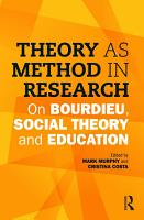 Theory as Method in Research PDF
