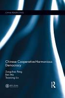Chinese Cooperative Harmonious Democracy PDF