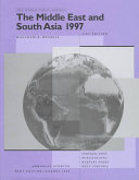 The Middle East and South Asia, 1997