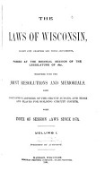 The Laws of Wisconsin PDF