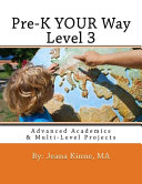 Pre K YOUR Way Level 3  Black and White Version