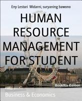 HUMAN RESOURCE MANAGEMENT FOR STUDENT PDF