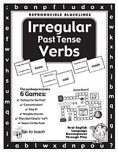 Irregular Past Tense Verbs Book