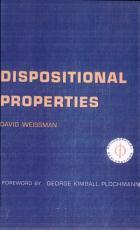 Dispositional Properties PDF