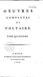 Oeuvres complètes de Voltaire: Volume1;Volume29