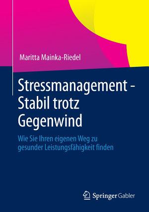 Stressmanagement   Stabil trotz Gegenwind PDF