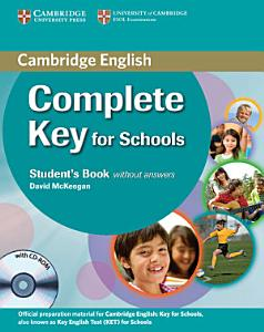 Complete Key for Schools Student s Book Without Answers with CD ROM PDF