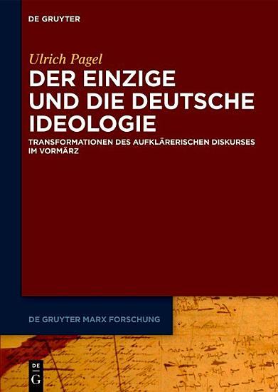 Der Einzige und die Deutsche Ideologie PDF