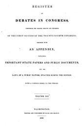 Debates in Congress: Volume 12; Volume 65