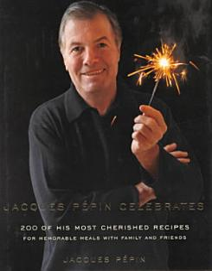 Jacques Pepin Celebrates Book