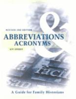 Abbreviations   Acronyms PDF
