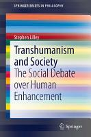 Transhumanism and Society PDF