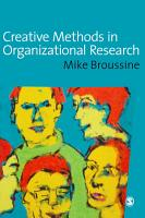 Creative Methods in Organizational Research PDF