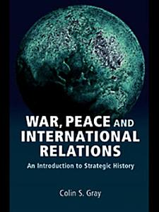 War  Peace and International Relations Book
