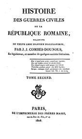 Histoire des guerres civil. de la République Romaine: Volume2