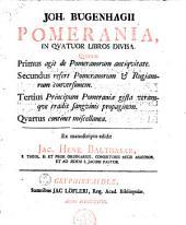 Pomerania, in quatuor libros divisa