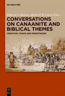 Conversations on Canaanite and Biblical Themes