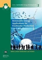 Renewable Energy Applications for Freshwater Production PDF