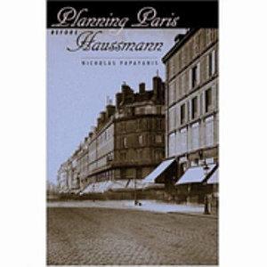 Planning Paris Before Haussmann Book