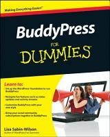 BuddyPress For Dummies PDF