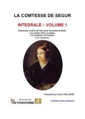 Comtesse de Ségur – Œuvres complètes – Volume 1