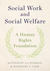 Social Work And Social Welfare Book PDF