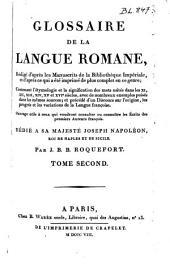 Glossaire de la langue romane, ...