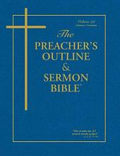 Preacher's Outline and Sermon Bible-KJV-Galatians-Colossians