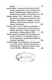 Lecciones de derecho politico constitucional: pronunciadas en el Ateneo de Madrid en 1844 y 1845