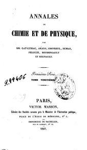 Annales de chimie et de physique: Volume20