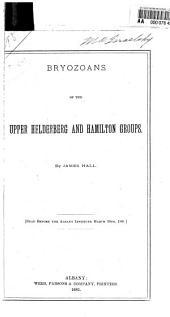 Bryozoans of the Upper Helderberg and Hamilton Groups