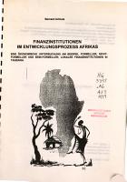 Finanzinstitutionen im Entwicklungsprozess Afrikas PDF