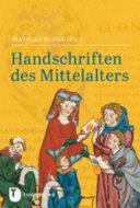 Handschriften des Mittelalters PDF