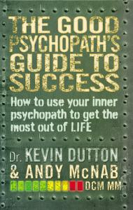 The Good Psychopath s Guide to Success Book