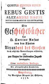 De rebus gestis Alexandri Magni: notis germanicis illustratus