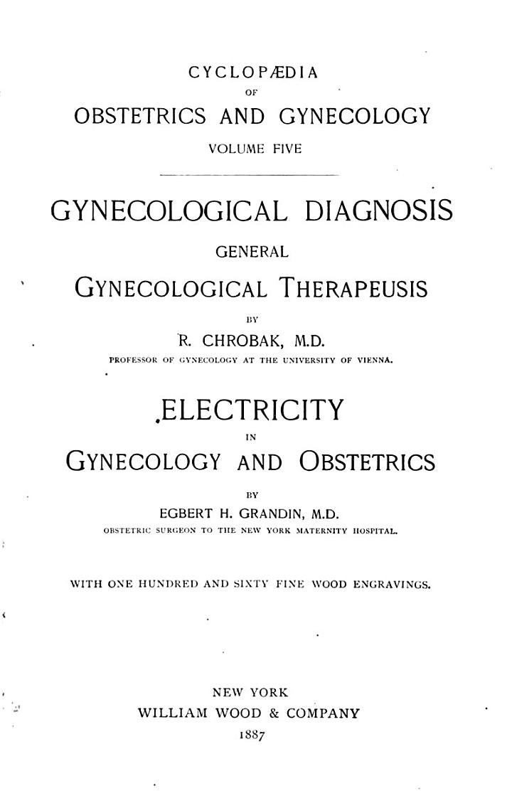 Cyclopaedia of Obstetrics and Gynecology