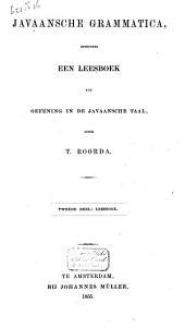 Javaansche grammatica, benevens een leesboek tot oefening in de Javaansche taal: المجلد 2