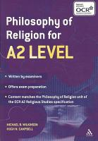 Philosophy of Religion for A2 Level PDF