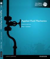 Applied Fluid Mechanics  Global Edition PDF
