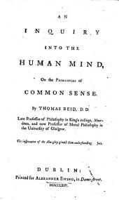 An Inquiry Into the Human Mind on the Principles of Common Sense. By Thomas Reid: Part 4