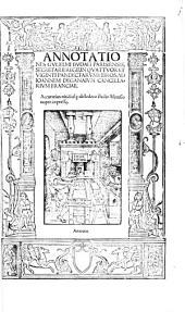 Annotationes in 24 Pandectarum Libros