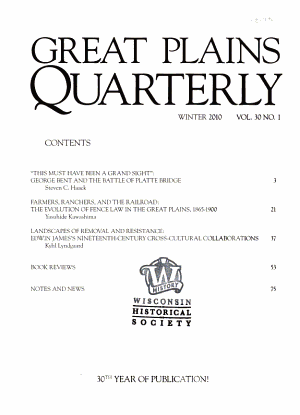Great Plains Quarterly PDF
