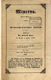 Minerva Jena: ein Journal für Geschichte, Politik und Literatur. 1858, 2