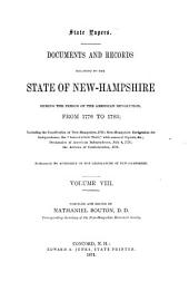 Provincial and State Papers: Volume 8