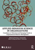 Applied Behavior Science in Organizations PDF