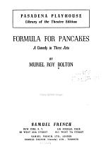 Formula for Pancakes