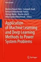 Application of Machine Learning and Deep Learning Methods to Power System Problems PDF