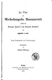 Le vite di Michelangelo Buonarroti